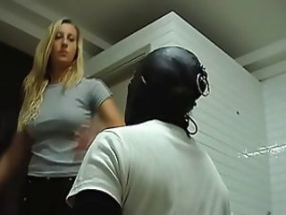 Two babes beat up slave