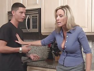 Sexy Mature Woman Seduced by Stepson