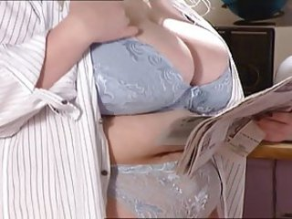 Big Tits Lingerie  Natural Pornstar