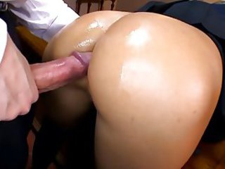 Anal Ass  Doggystyle Oiled Teen