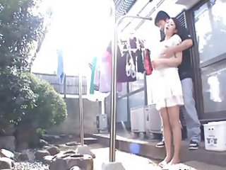 Asian Outdoor Wife