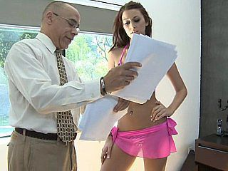 Amazing Daddy Old and Young Teacher Teen