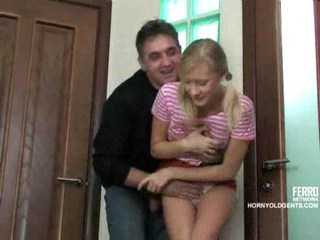 Daddy Daughter Forced Hardcore Old and Young Russian Teen