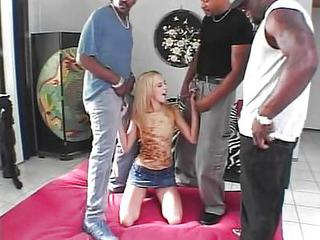 Gangbang Interracial Teen