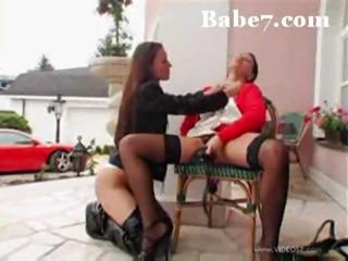 Two Babes Are Hot And Horny And Start In The Car But Take It Inside