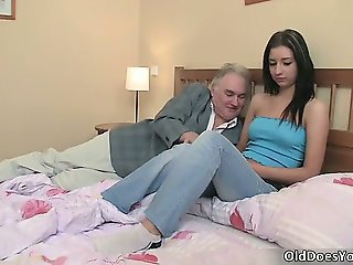 Daddy Daughter Old and Young Teen