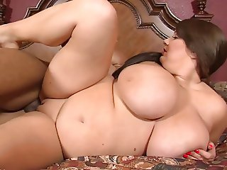 BBW 38D Fucked by Black