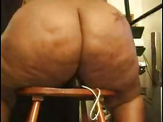 Amateur Ass  Ebony Masturbating Toy