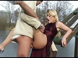 Clothed Hardcore Outdoor Public