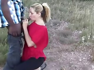 Amateur Blowjob Cuckold Interracial Outdoor Wife
