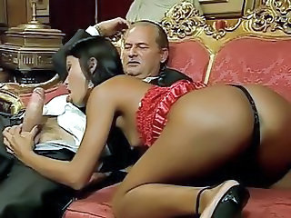Ass Babe  Blowjob Daddy Old and Young Vintage