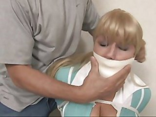 Taped Helpless Gags