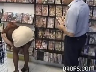 Ass  Public Skirt Stockings