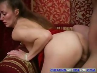 Russian Mature Mom Fucked