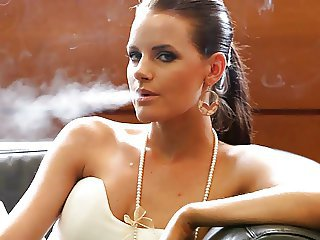 Babe Cute Smoking