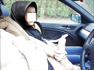 Car Handjob Turkish