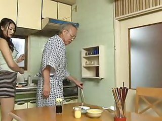 Asian Japanese Kitchen Old and Young