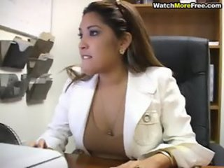 Amateur Asian Office Secretary Teen