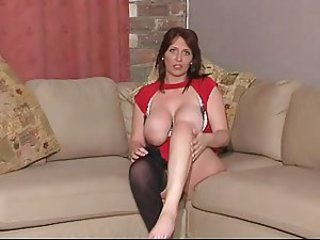 Big Tits British European  Natural Solo