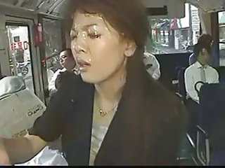 Asian Bukkake Bus Cumshot Facial Japanese Public