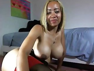 Big Tits Ebony  Webcam