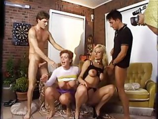 European German Groupsex  Orgy