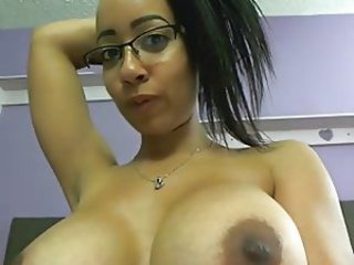 Big Tits Ebony Glasses  Webcam
