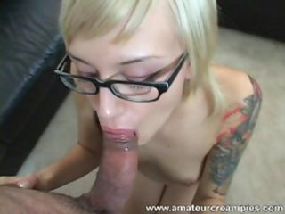 Blowjob Glasses Tattoo Teen