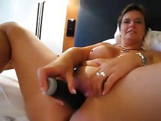 European German Masturbating Mature Toy