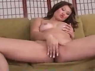 Asian Babe Chubby Masturbating
