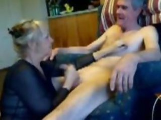 Blonde Milf Erica sucking cock be useful to her Lover