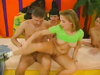 Awesome russian orgy