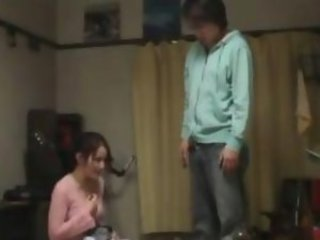 horny milf hard blowjob to teenager