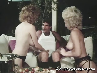 Mature Threesome Vintage