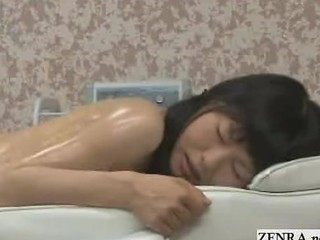 Asian Japanese Massage Oiled Teen