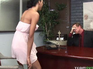 Latin Schoolgirl Getting Fucked By Her Teacher