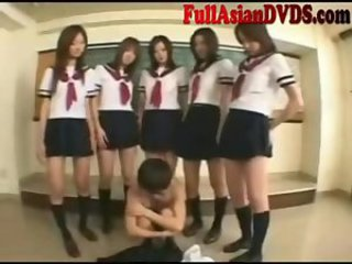 Asian Femdom Japanese School Student Teen Uniform