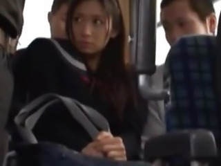 Asian Bus Japanese Public Student Teen Uniform
