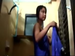 Asian Bathroom Thai Voyeur