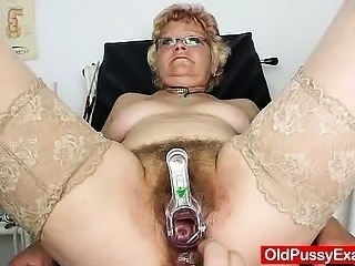 Furry vag gramma needs a pussy examination Sex Tubes