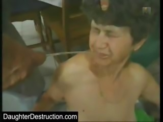 Virgin son assfucked and spermed on
