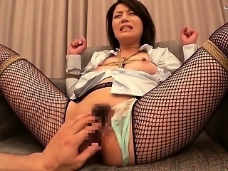 Asian Bondage Fishnet Japanese