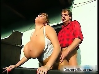 Horny lumber jack is cock sucked