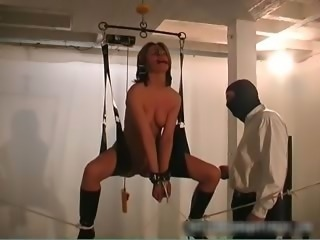 Clamped Nipples Penetrated vagina  part6