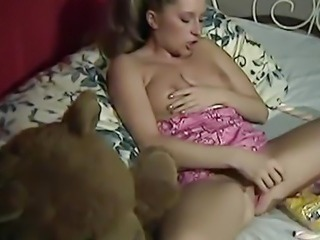 Masturbating Solo Teen Toy