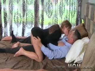 MOM Mature Black-hearted rides his cock free