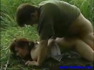 Forced Hardcore Outdoor Teen