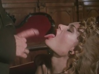 Cumshot European French  Swallow Vintage