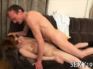 Daddy Old and Young Teacher Teen