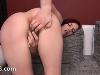 Cute European Masturbating Solo